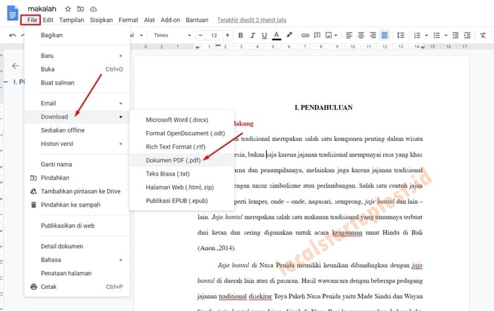 Edit PDF Dengan Google Docs 3
