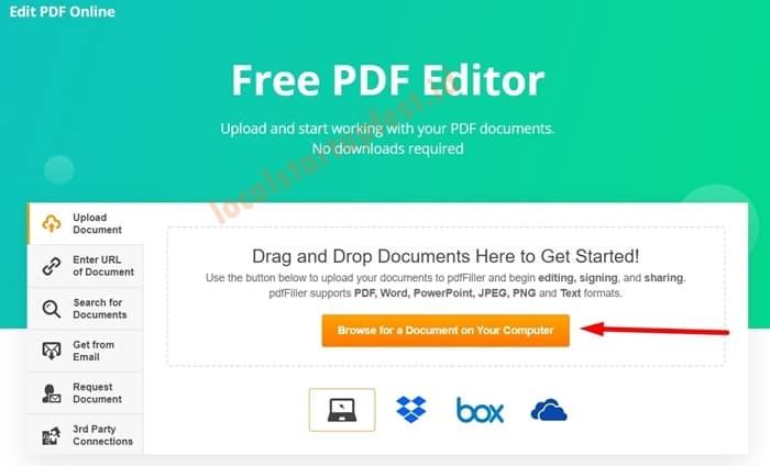 Cara Edit PDF Dengan PDF Filler