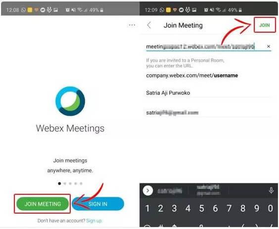 Cara Meeting Online dengan Webex 1