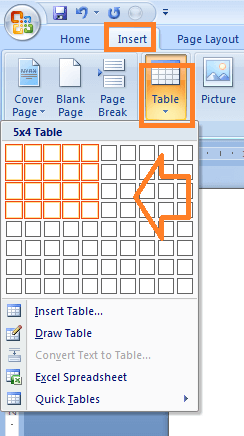 Cara Membuat Tabel Di Microsoft Word 2