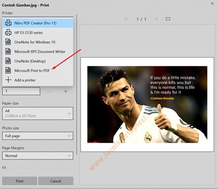 Cara Mengubah JPG ke PDF Offline 3