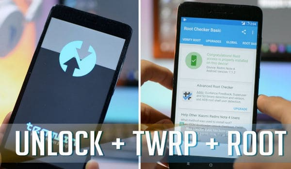 Cara Root dan Instal TWRP di Xiaomi Redmi Note 4