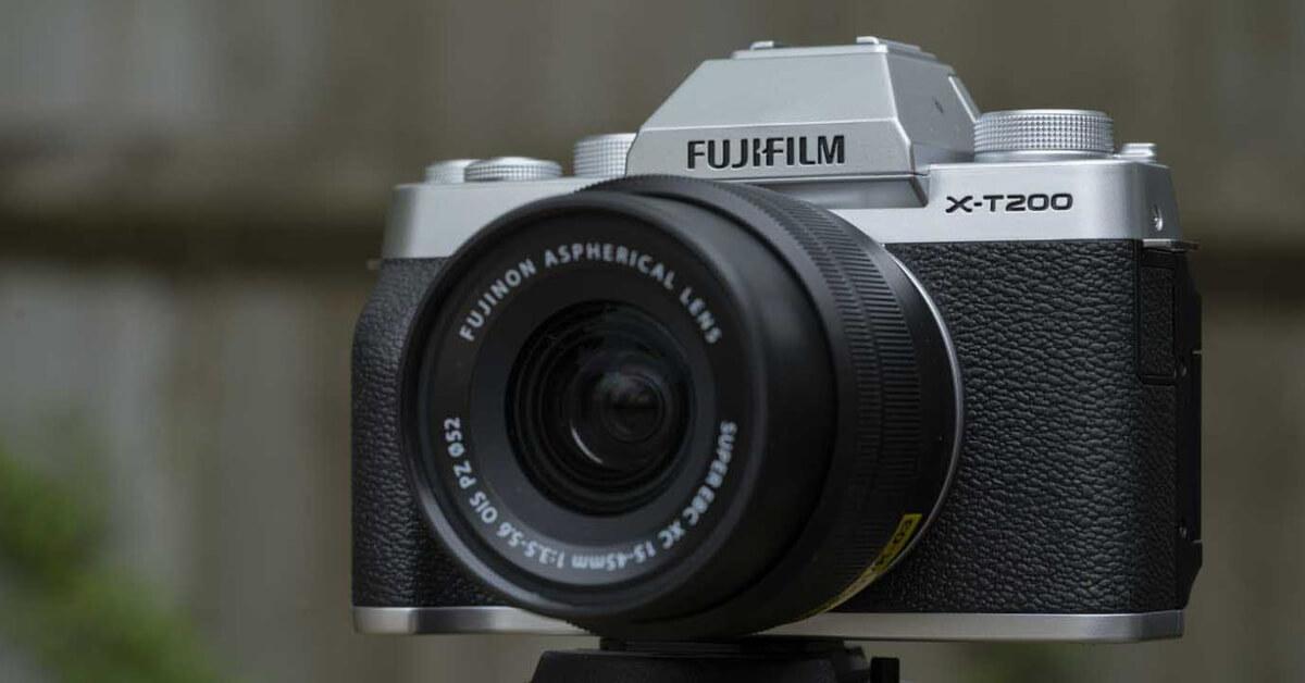 Fujifilm X T200 Rekomendasi Kamera Untuk Content Creator Terbaik