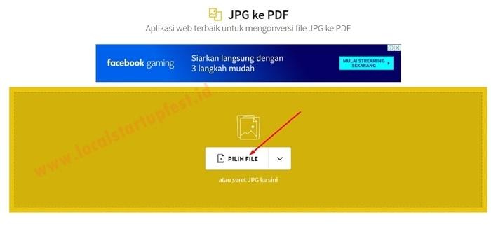 Mengubah JPG ke PDF Online 10