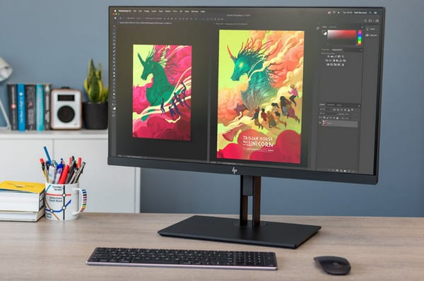 Monitor LED HP Business Z27 27 Inci