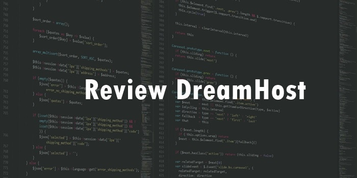 Review DreamHost