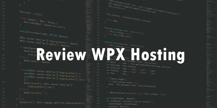 Review WPX Hosting
