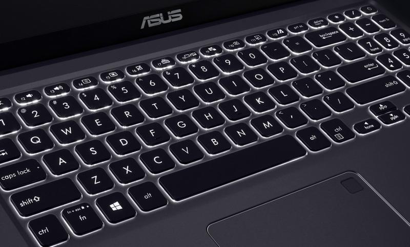 backlit pada keyboard vivobook a516
