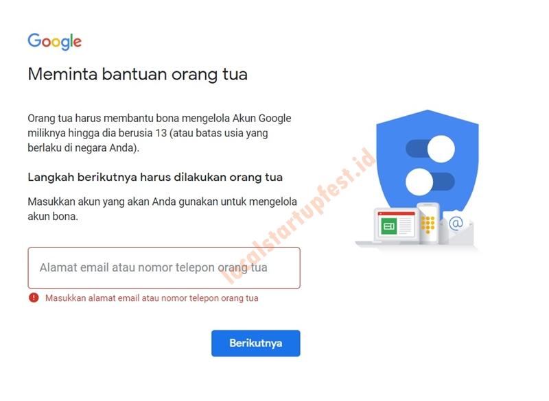 cara bikin email di laptop