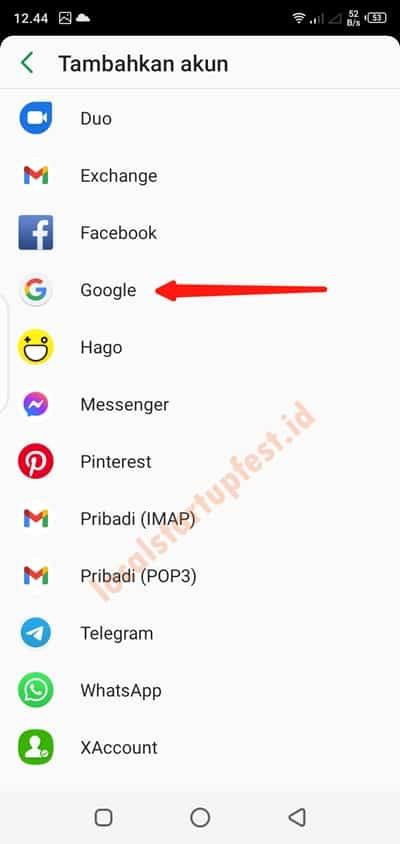 cara membuat email di smartphone 10