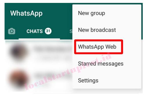 cek whatsap web untuk mengetahui hp disadap