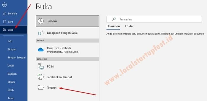 cara mengubah pdf ke word 1