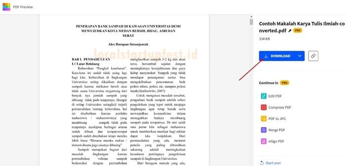 convert word to pdf dengan smallpdf 11