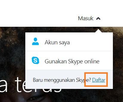 daftar skype di pc 1