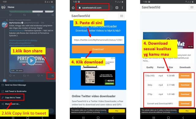 download video twitter dengan SaveTweetVid