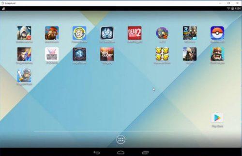 emulator android terbaik leapdroid