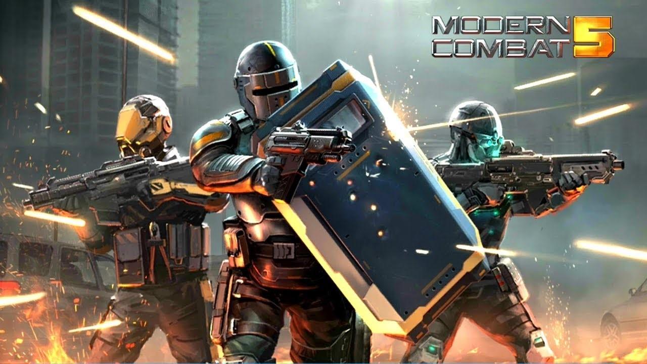 game perang modern combat 5 esports fps