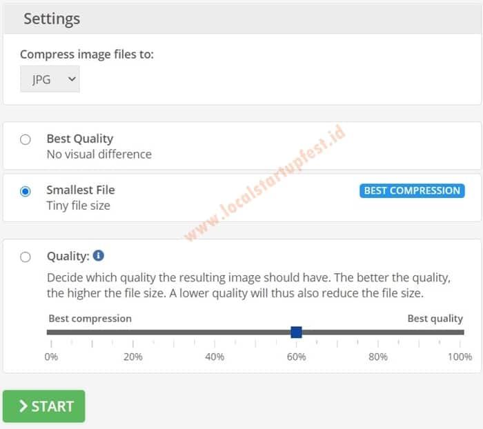 mengubah ukuran foto online dengan Img2go 18