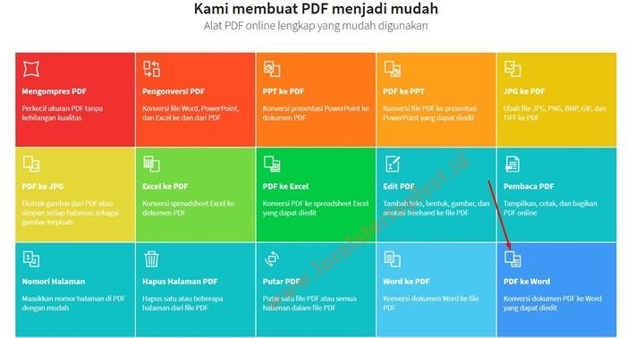 merubah pdf ke word 10