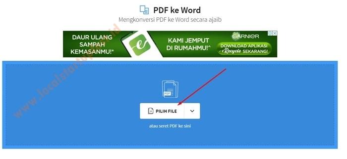 merubah pdf ke word dengan smallpdf 11