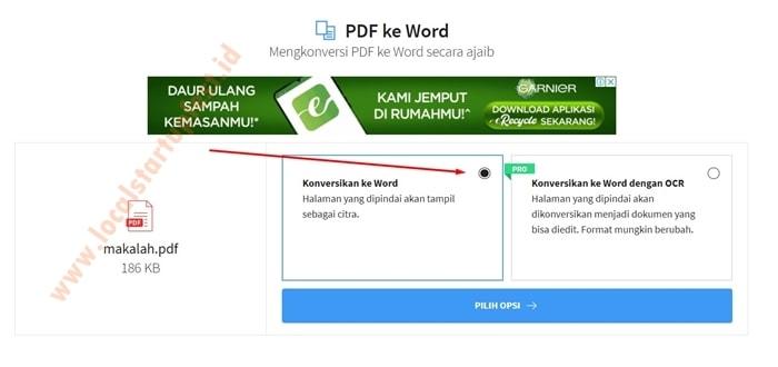 merubah pdf ke word dengan smallpdf 12