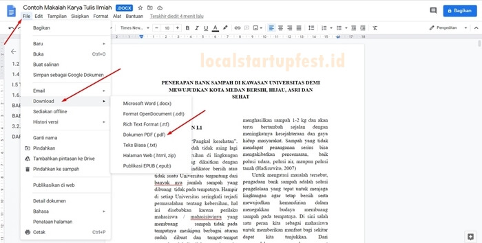 ubah word ke pdf dengan google doc 9
