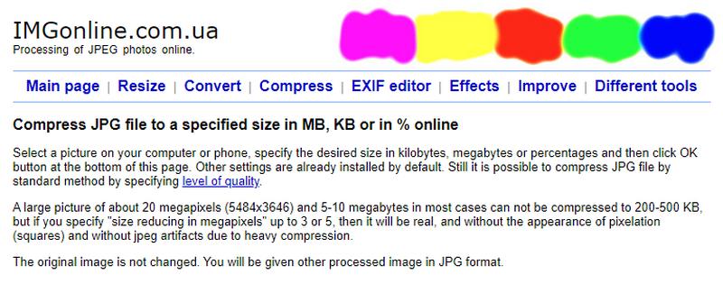 web kompres foto jadi 100 kb